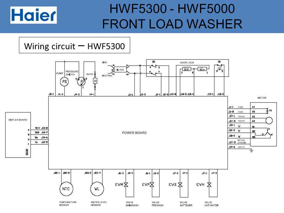 Wiring circuit – HWF5300