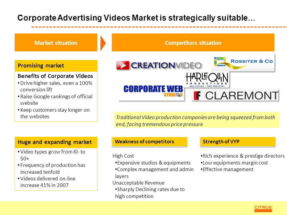 Corporate Advertising Videos Market is strategically suitable…