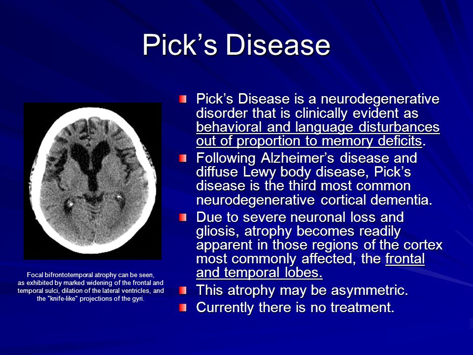 Pick's Disease