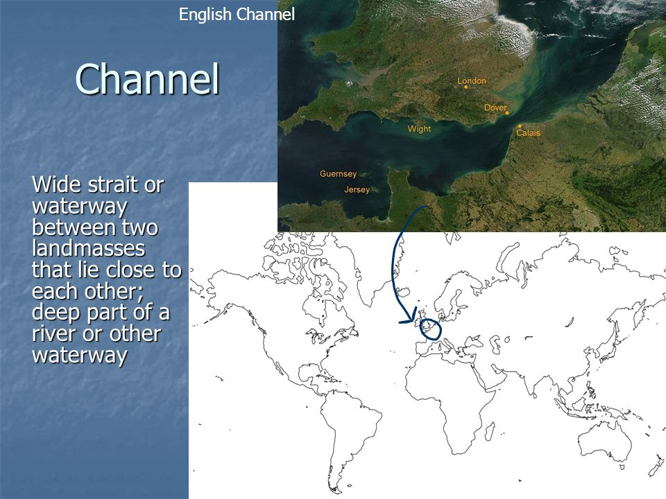 English Channel Channel.