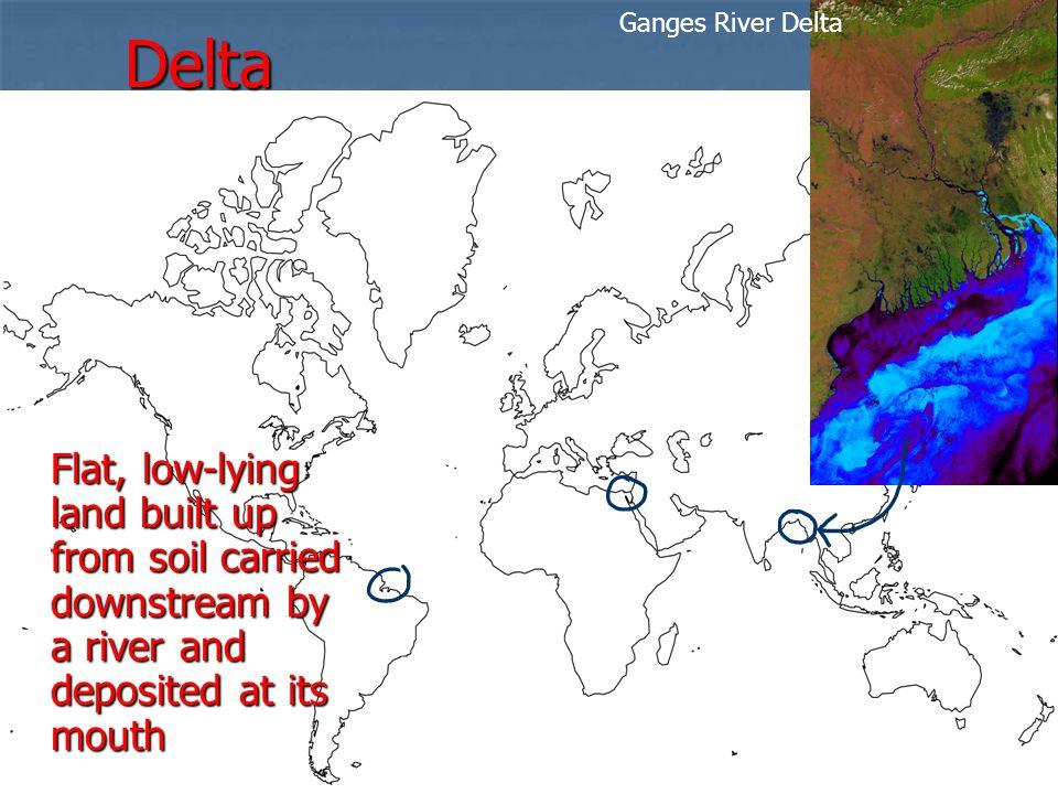 Delta Ganges River Delta.
