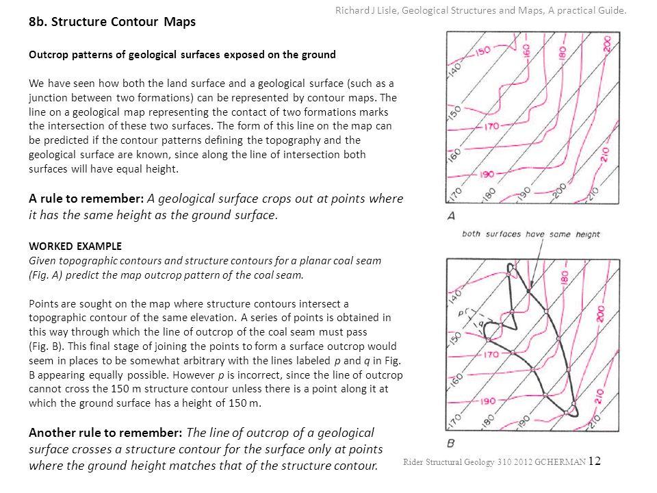 8b. Structure Contour Maps