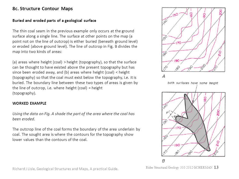 8c. Structure Contour Maps