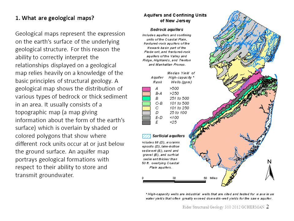 1. What are geological maps