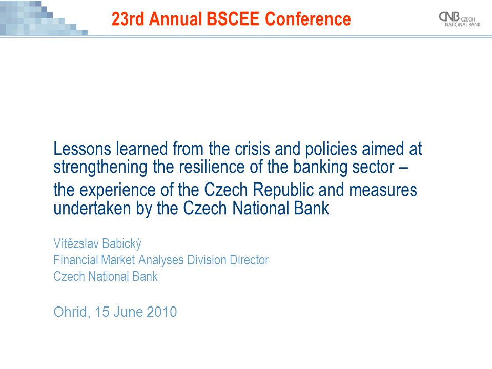 23rd Annual BSCEE Conference