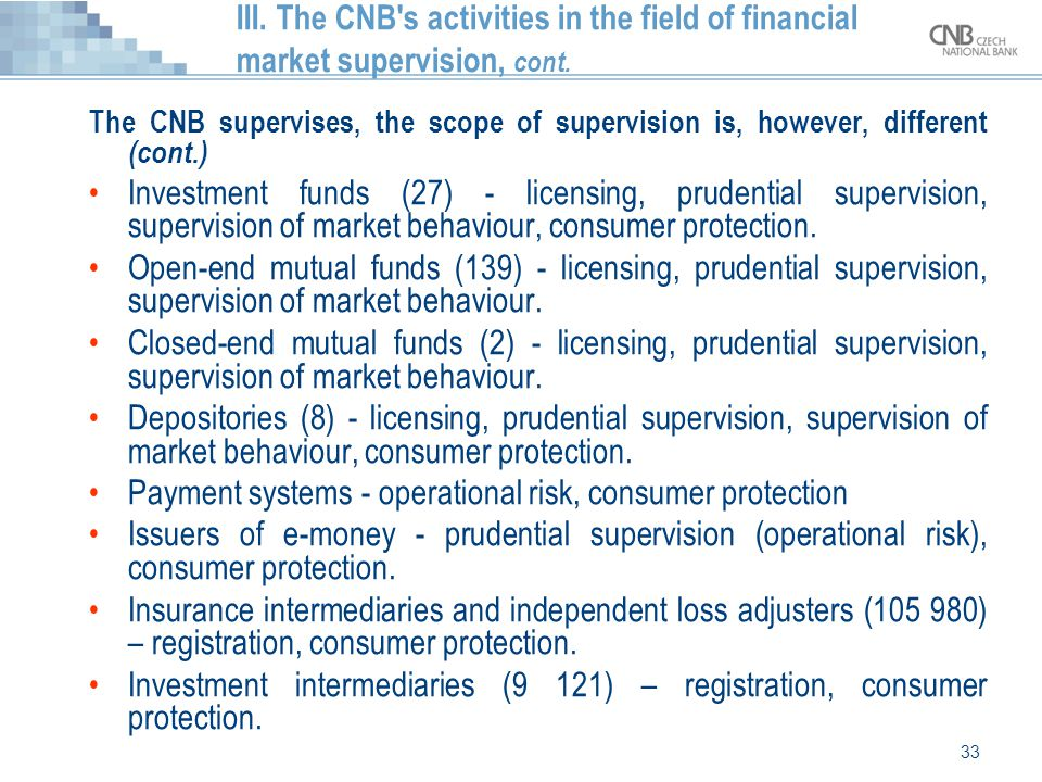 Payment systems - operational risk, consumer protection