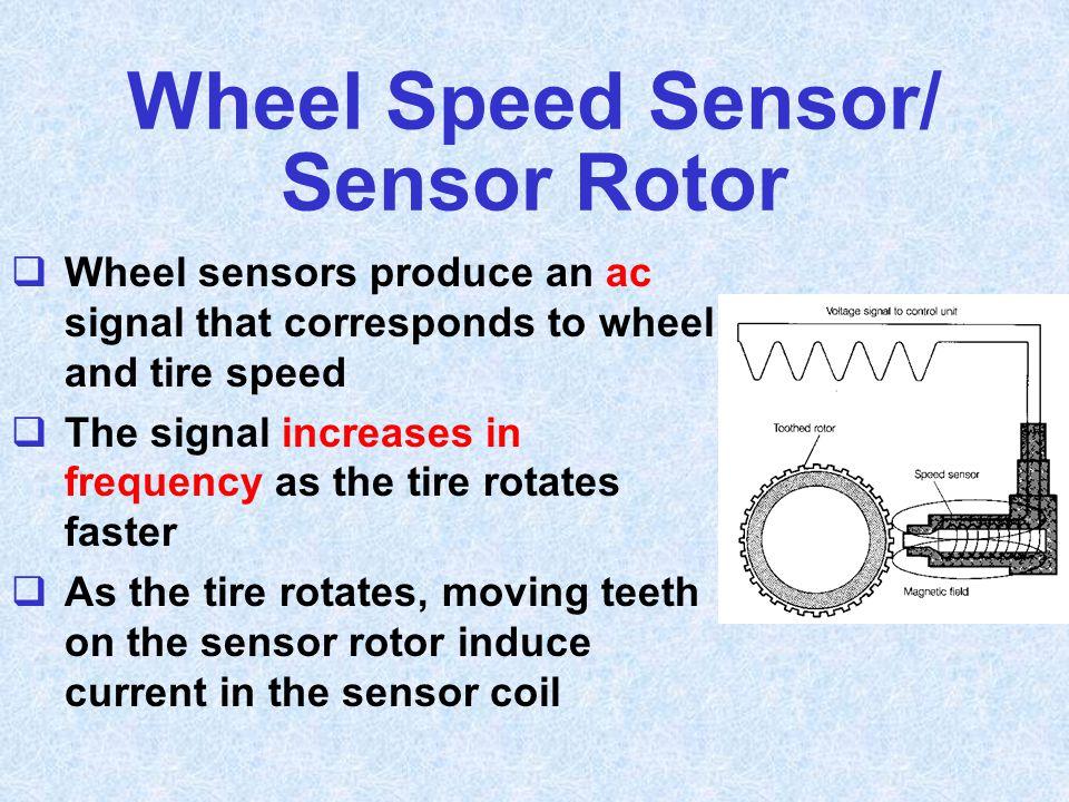 Wheel Speed Sensor/ Sensor Rotor