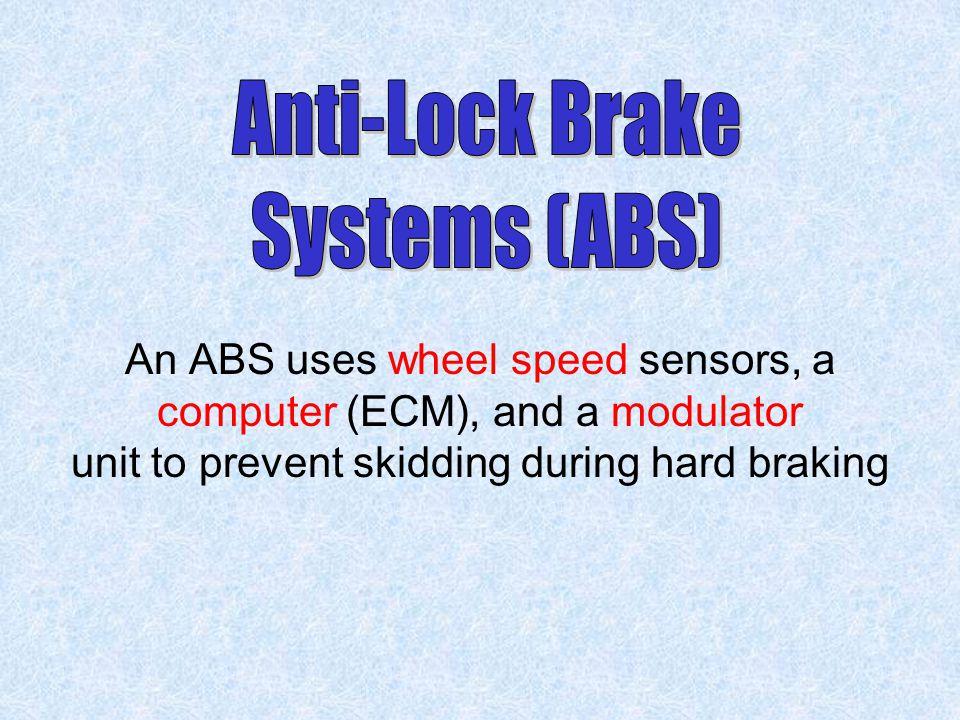 Anti-Lock Brake Systems (ABS)