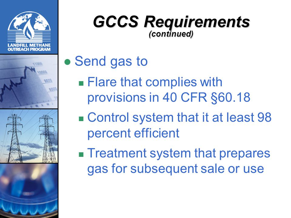 GCCS Requirements (continued)
