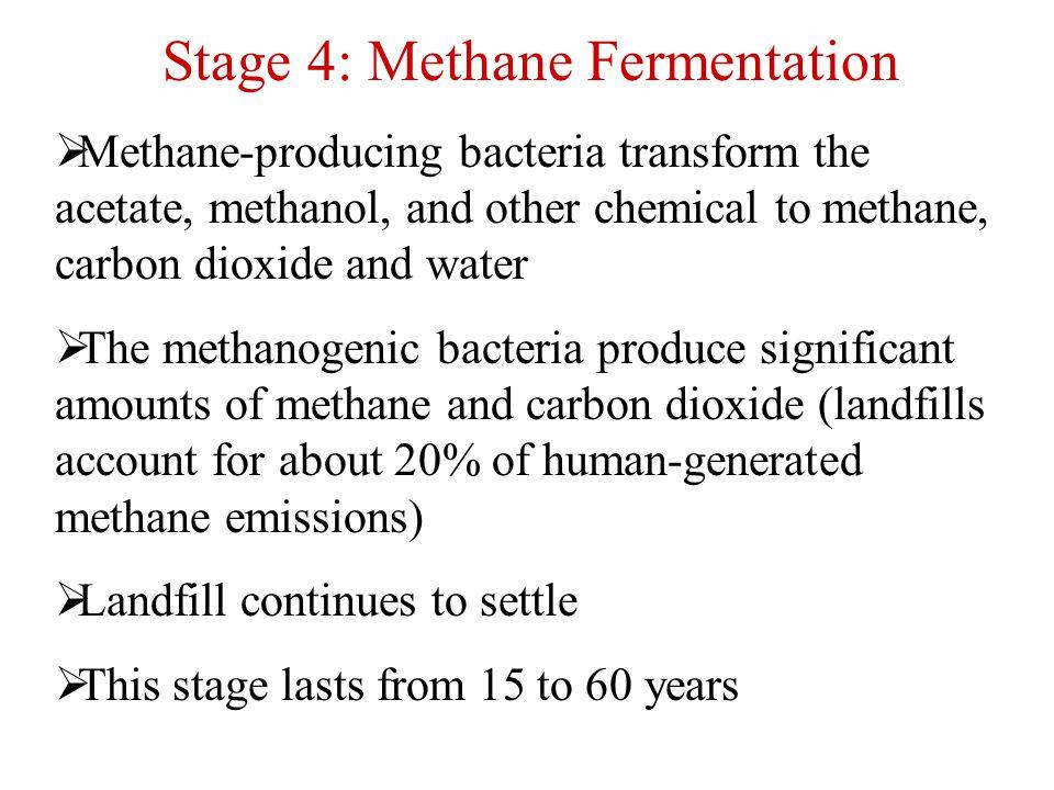 Stage 4: Methane Fermentation
