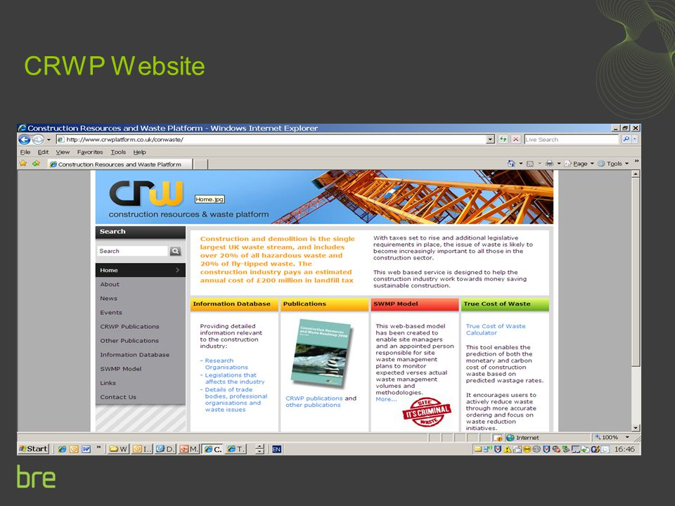 CRWP Website