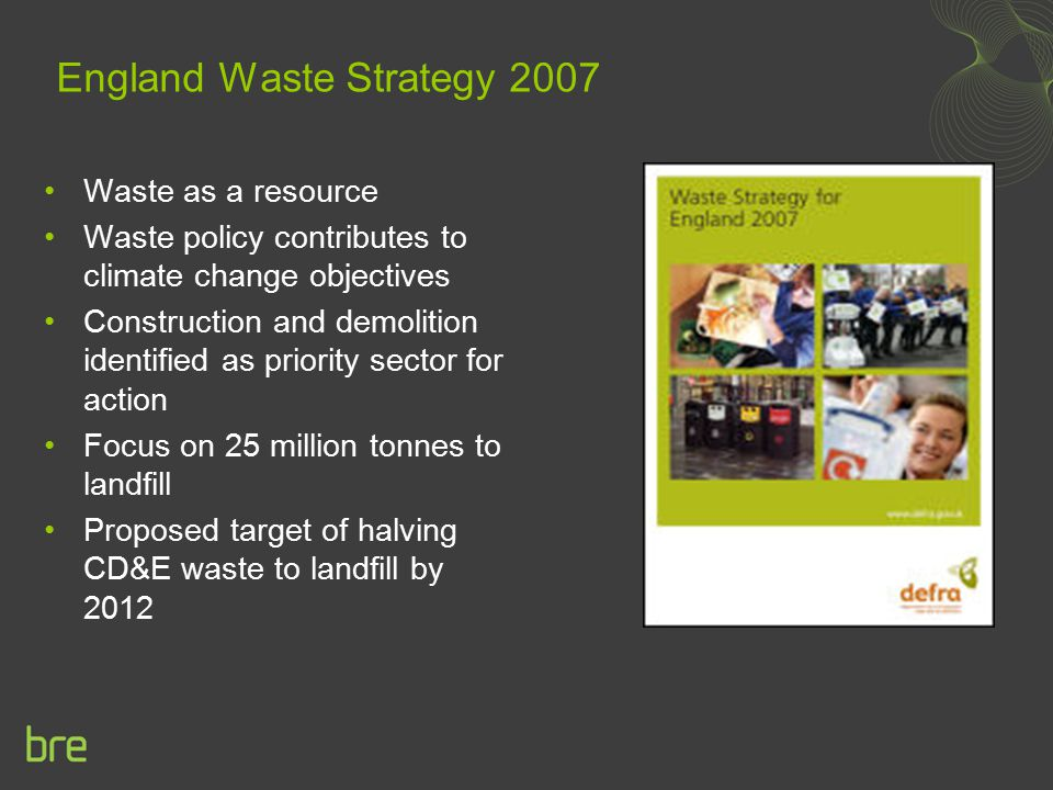 England Waste Strategy 2007
