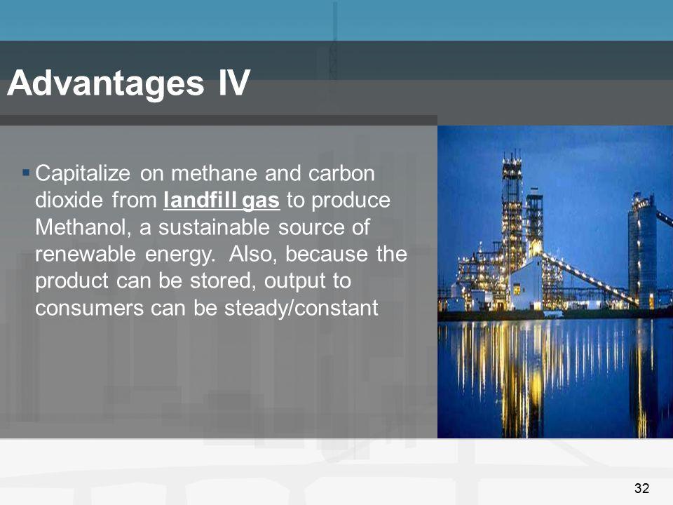 Advantages IV