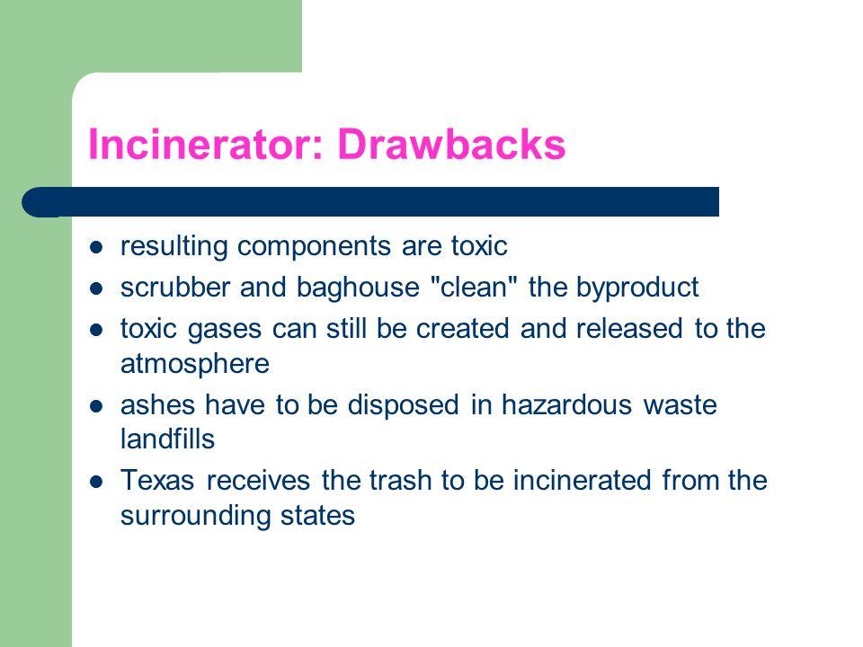 Incinerator: Drawbacks