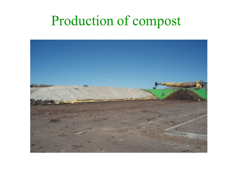 Production of compost