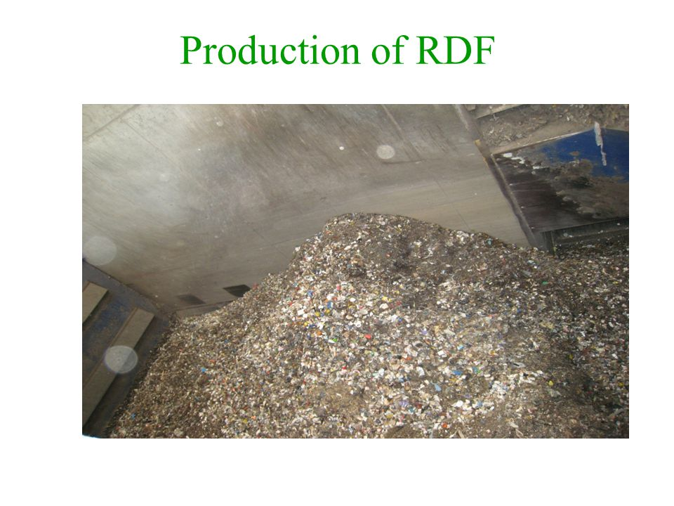 Production of RDF