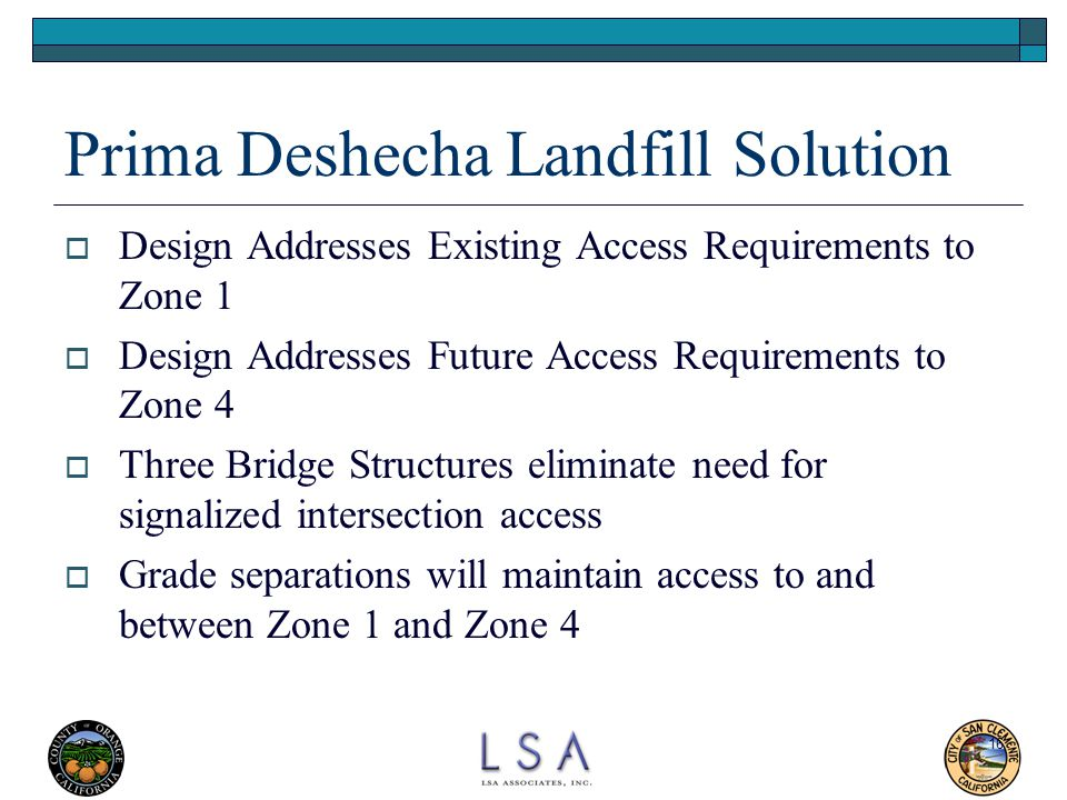Prima Deshecha Landfill Solution
