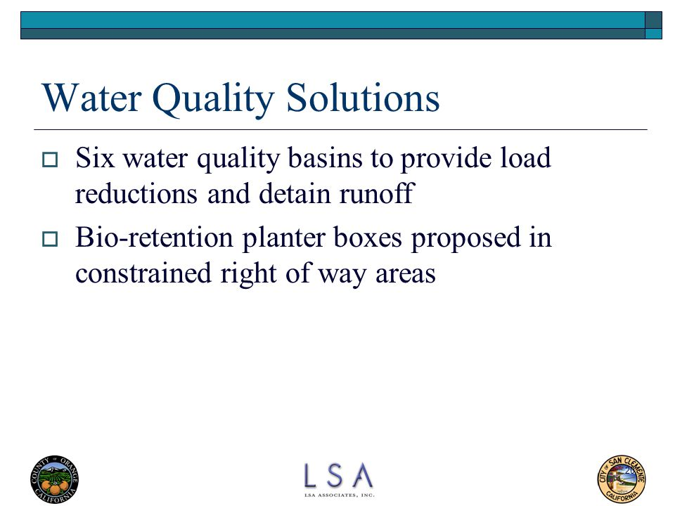 Water Quality Solutions