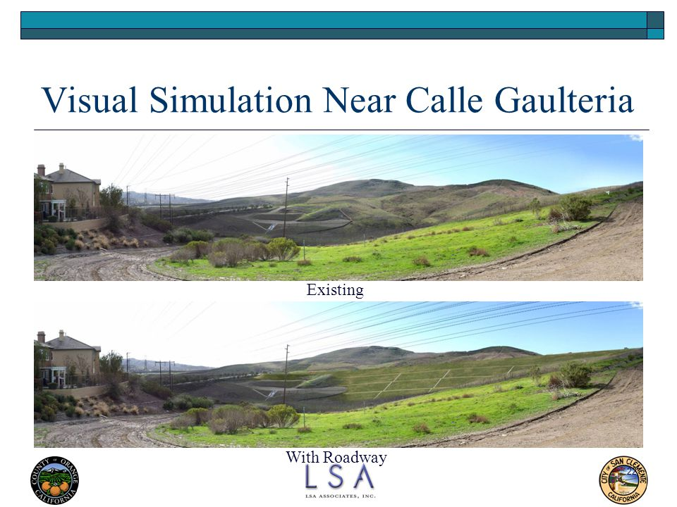 Visual Simulation Near Calle Gaulteria