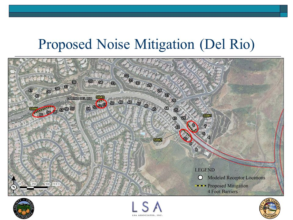 Proposed Noise Mitigation (Del Rio)