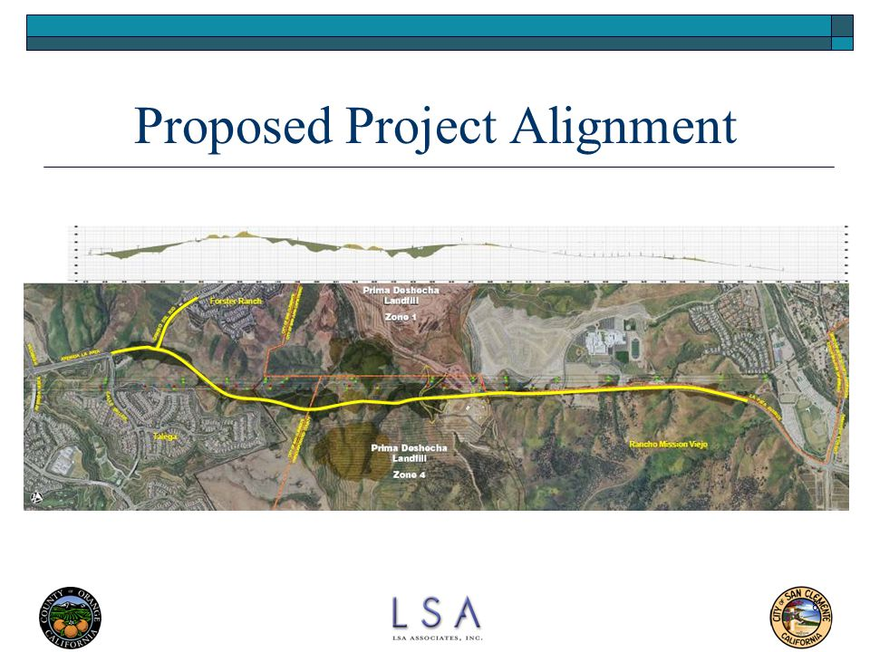 Proposed Project Alignment