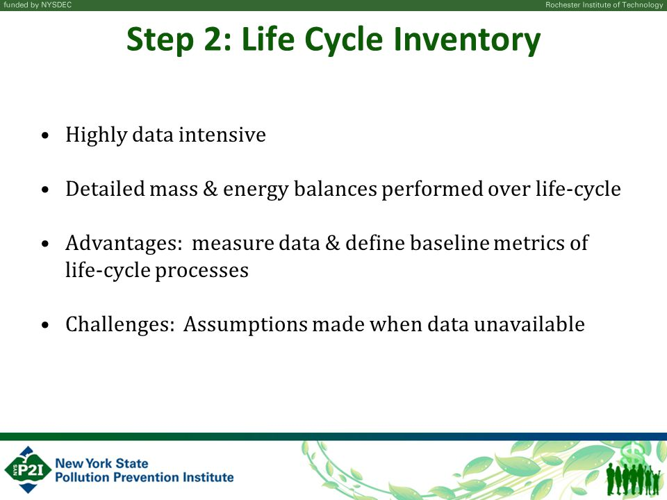 Step 2: Life Cycle Inventory