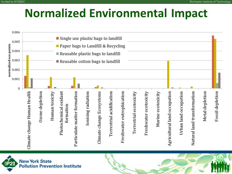 Normalized Environmental Impact