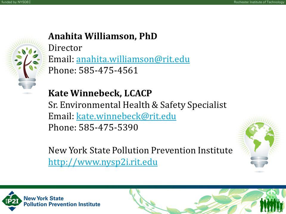 Anahita Williamson, PhD