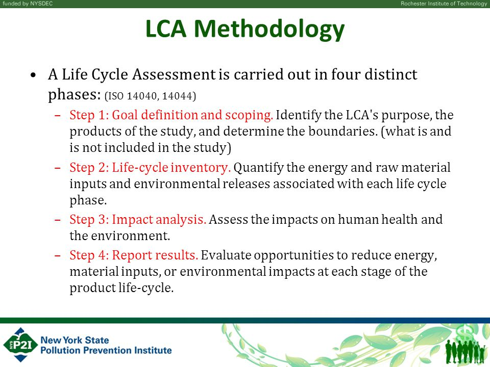 Life Cycle Assessment Laying The Foundation For A