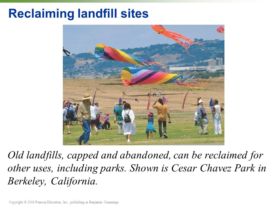 Reclaiming landfill sites