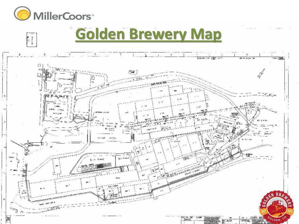 Golden Brewery Map