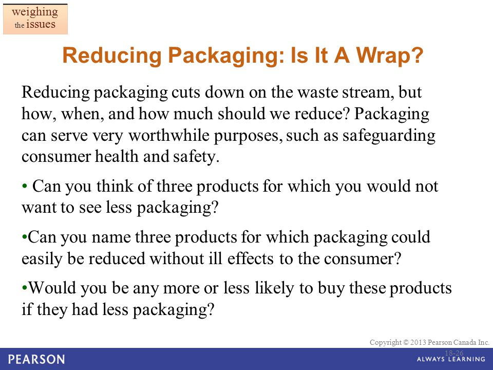 Reducing Packaging: Is It A Wrap
