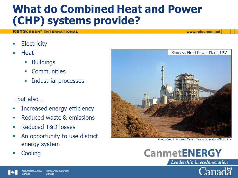 What do Combined Heat and Power (CHP) systems provide