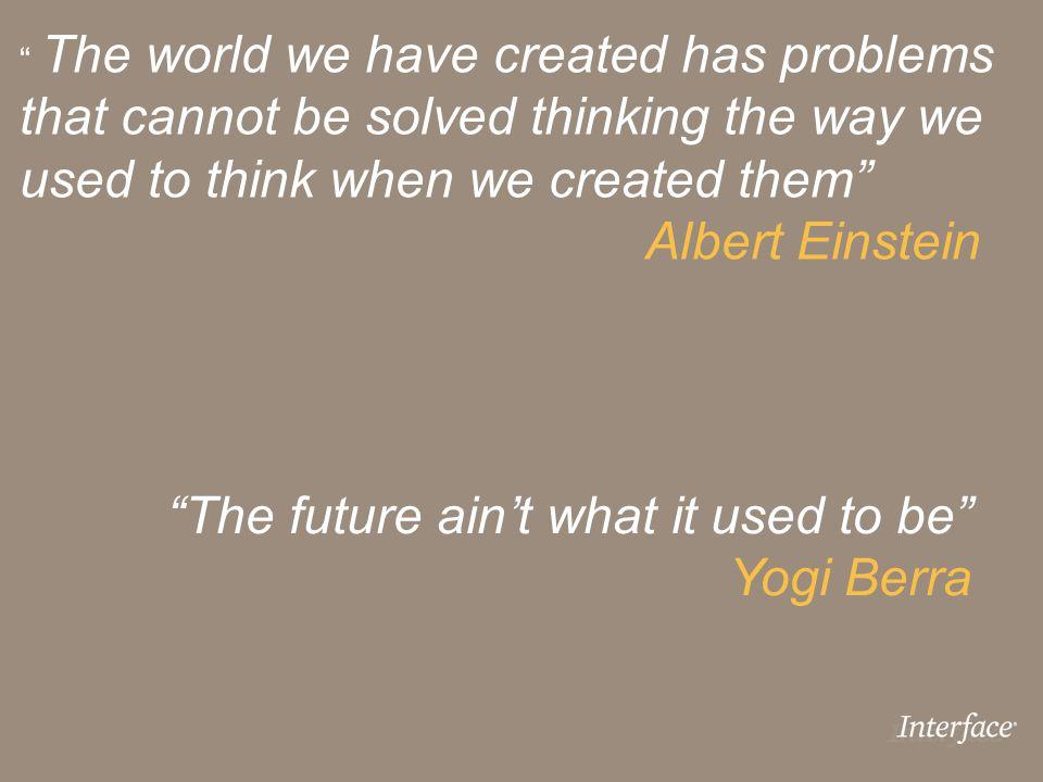used to think when we created them Albert Einstein