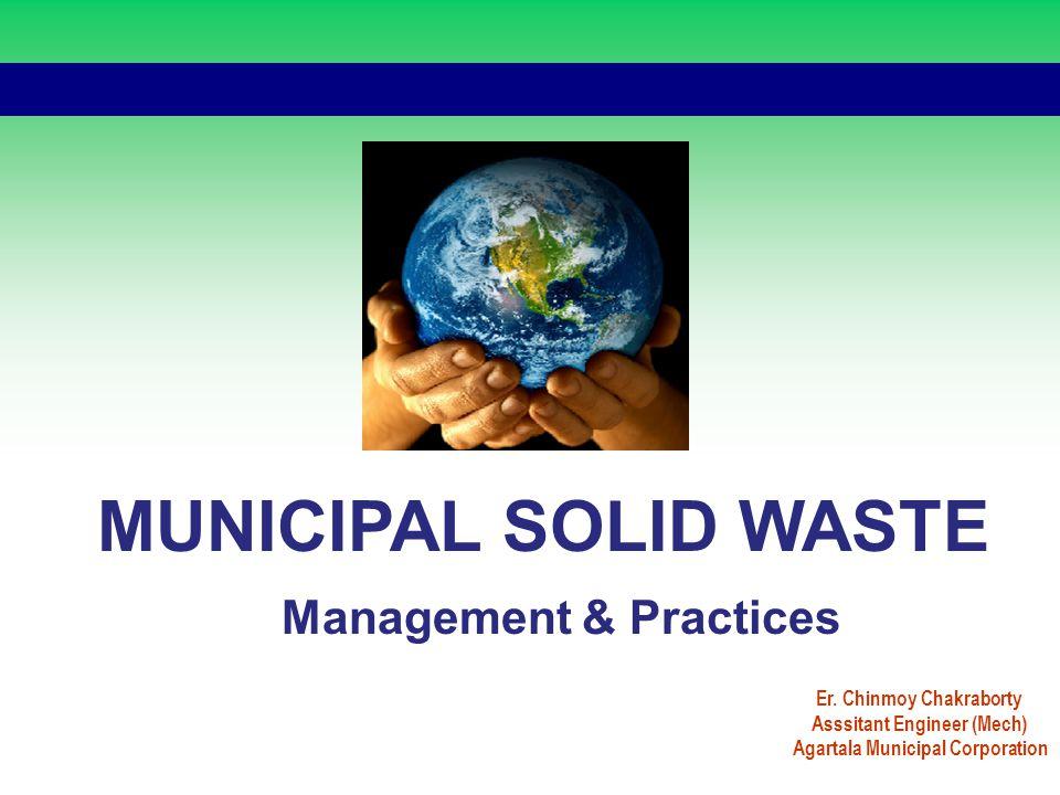 MUNICIPAL SOLID WASTE Management & Practices Asssitant Engineer (Mech)