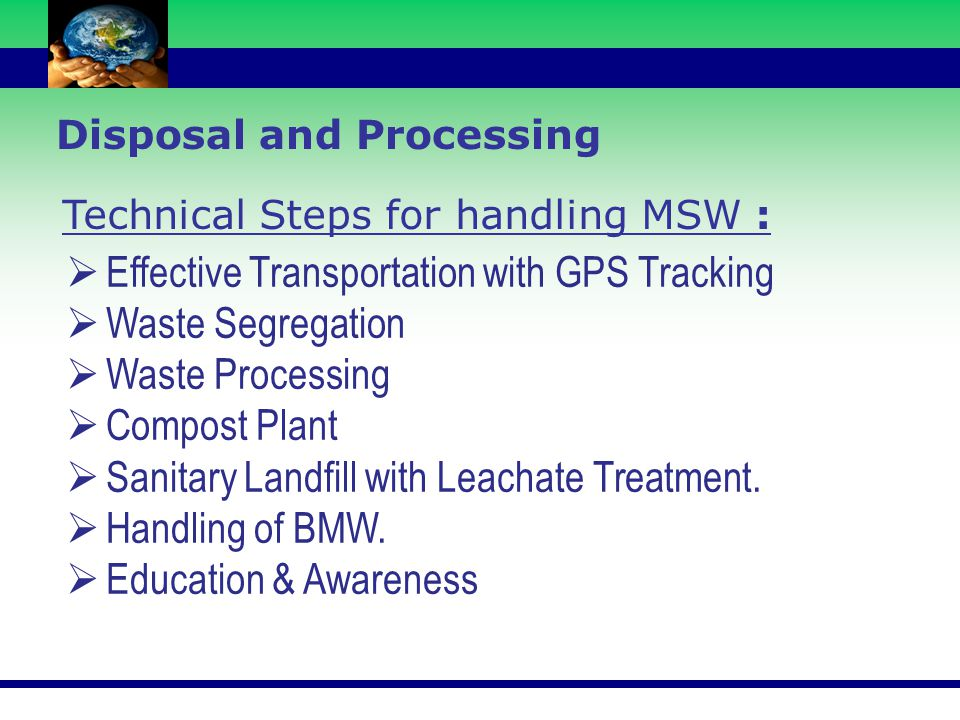 Effective Transportation with GPS Tracking Waste Segregation