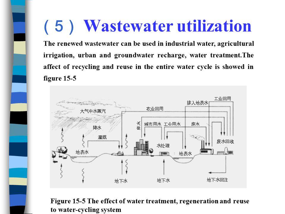 (5) Wastewater utilization
