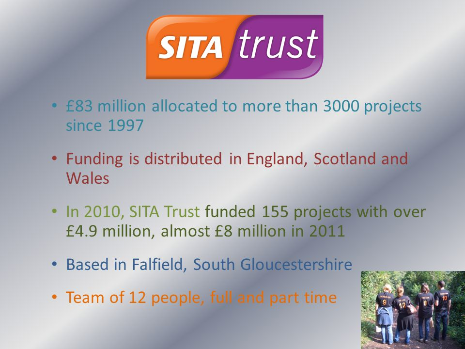 £83 million allocated to more than 3000 projects since 1997