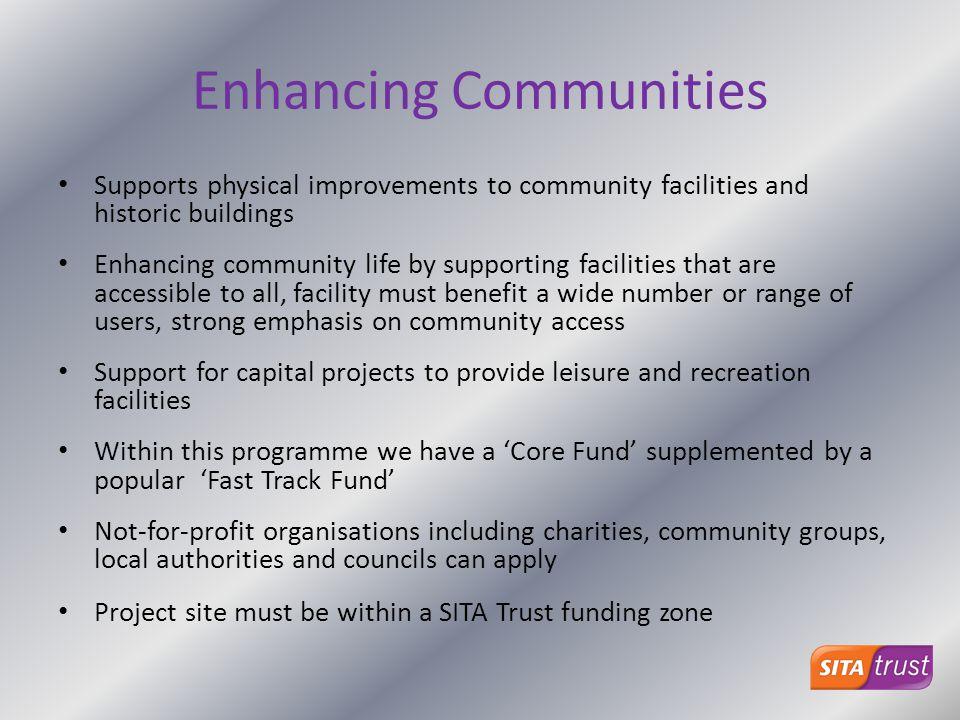 Enhancing Communities