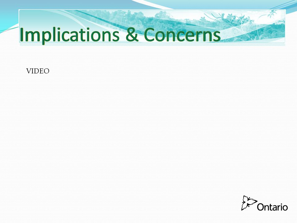 Implications & Concerns