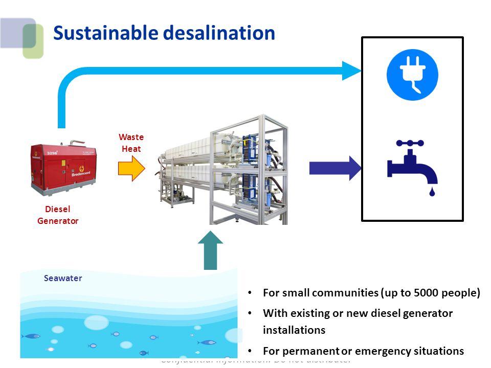 Sustainable desalination