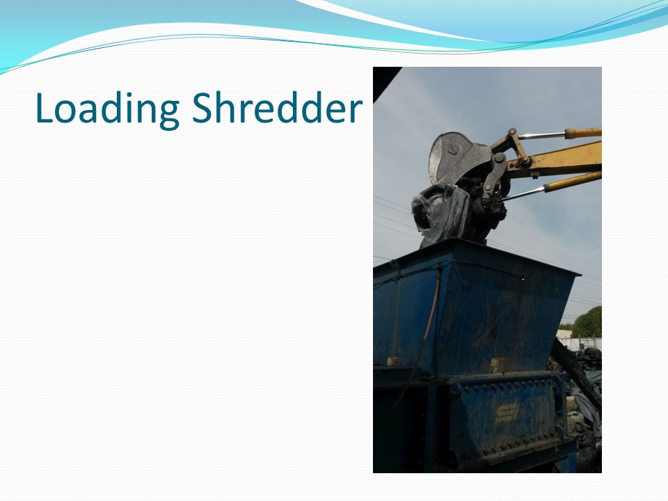 Loading Shredder