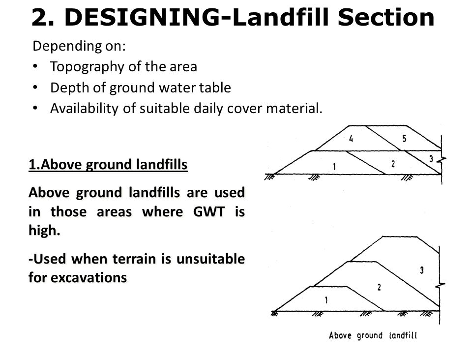 2. DESIGNING-Landfill Section