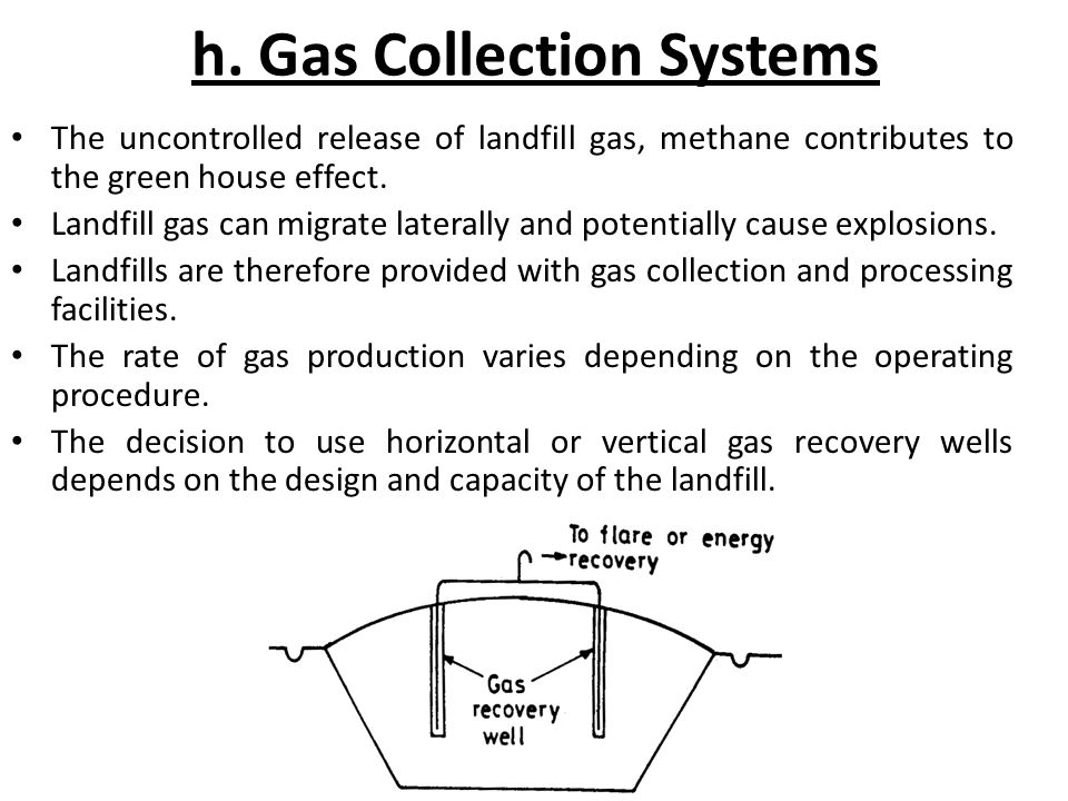 h. Gas Collection Systems