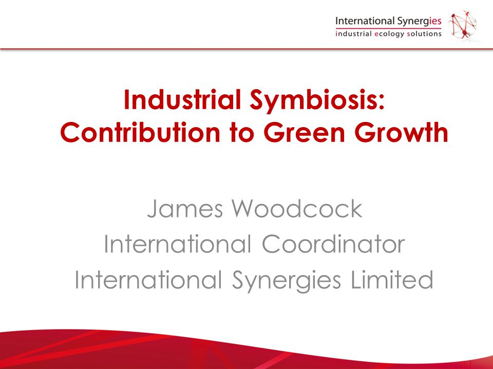 Industrial Symbiosis: Contribution to Green Growth