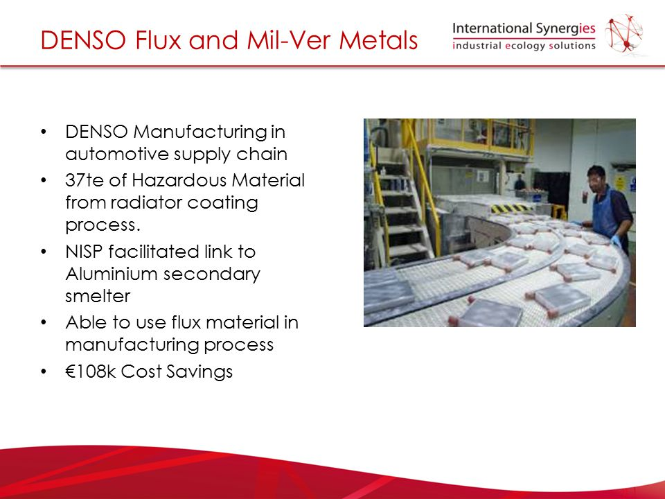 DENSO Flux and Mil-Ver Metals