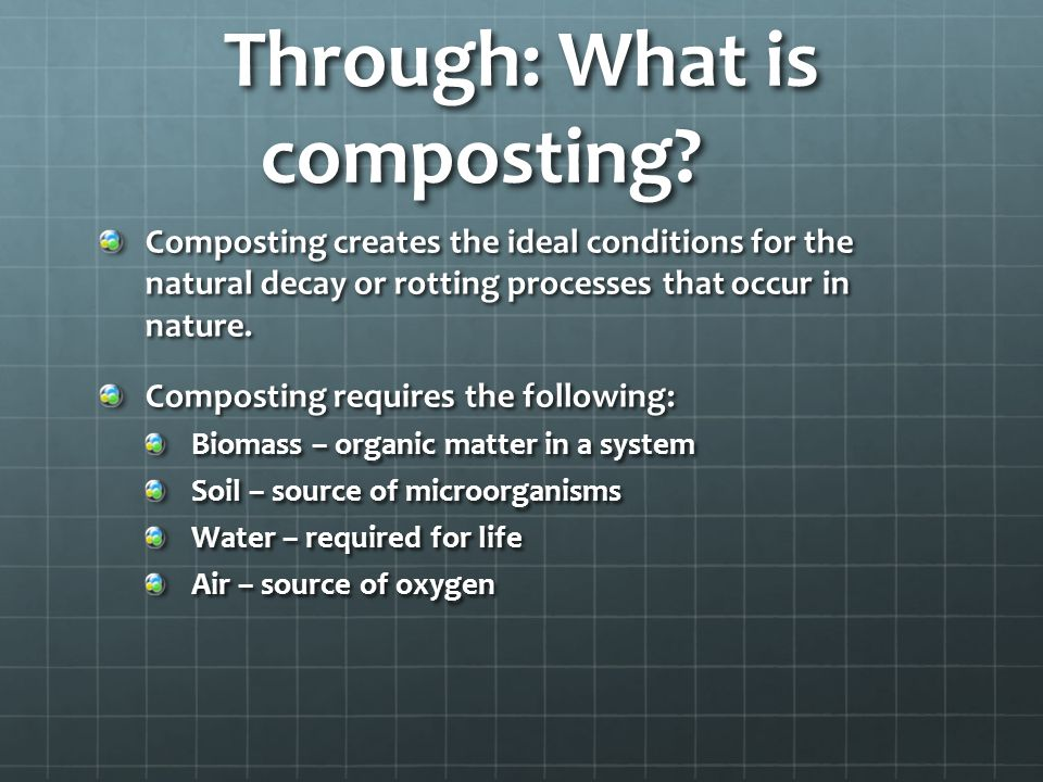 Through: What is composting