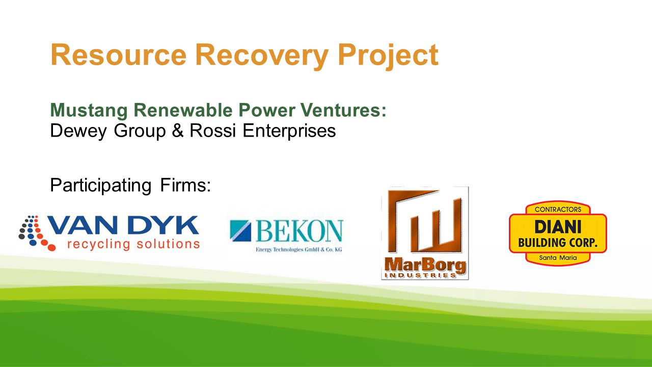 Resource Recovery Project