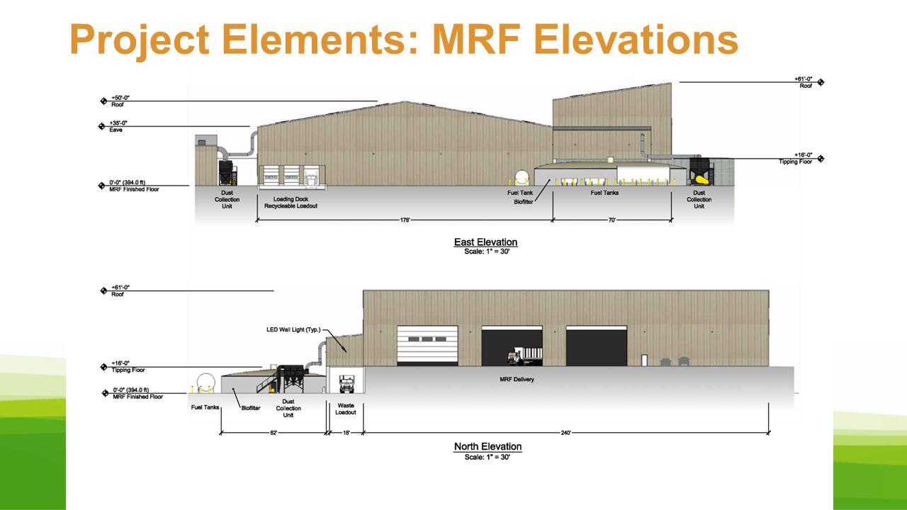 Project Elements: MRF Elevations