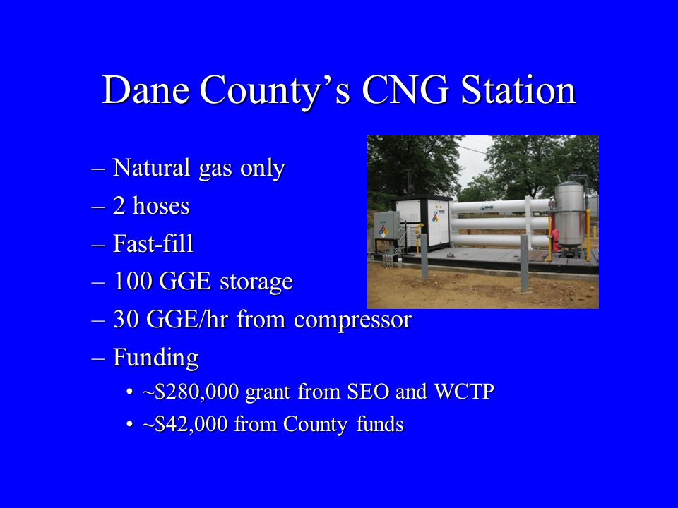 Dane County's CNG Station